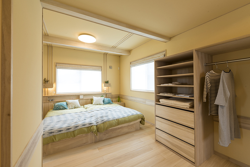 寝室 after