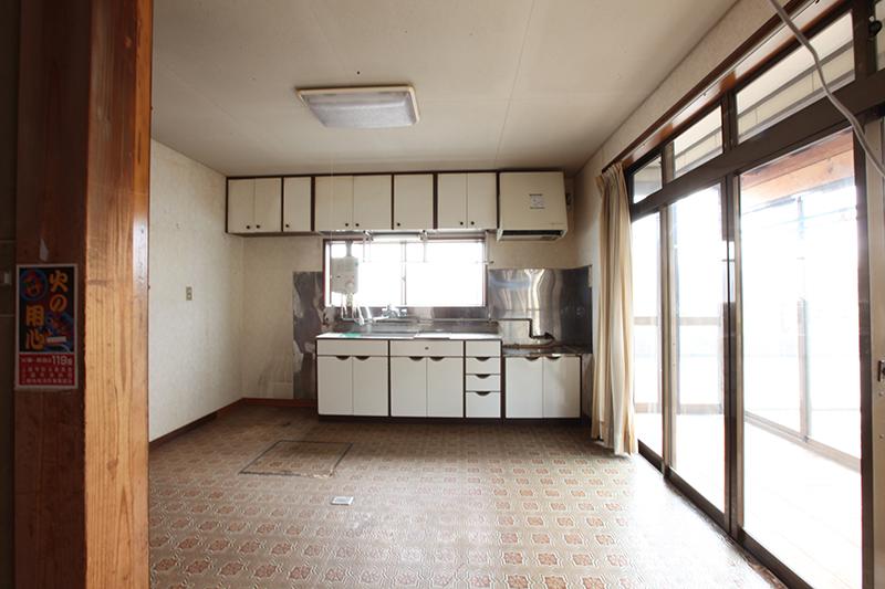 キッチン before